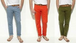 Mode homme, les couleurs tendances de cet été