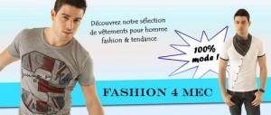 Fashion4mec.com : boutique de mode pour homme