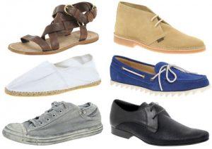 chaussure porter été